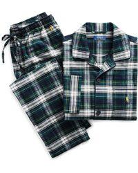 Polo Ralph Lauren - Flannel Sleep Set - Lyst