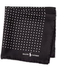 Polo Ralph Lauren - Polka-dot Silk Pocket Square - Lyst