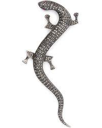 Ralph Lauren - Crystal Gecko Brooch - Lyst