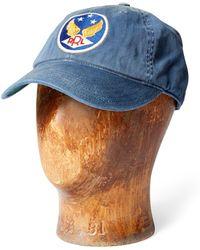 e871e437c10 Indigo Cotton Bandanna. £110. Ralph Lauren · RRL - Garment-dyed Twill Ball  Cap - Lyst