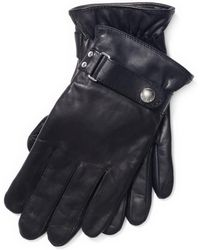 Polo Ralph Lauren - Nappa Leather Touch Gloves - Lyst