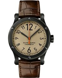 Ralph Lauren - 39 Mm Chronometer Steel - Lyst