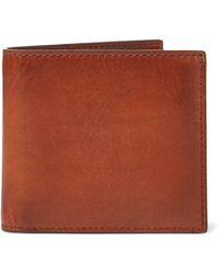 Ralph Lauren - Hand-burnished Vachetta Wallet - Lyst