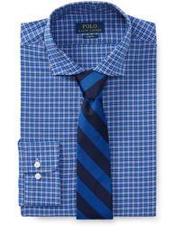 Polo Ralph Lauren - Slim Fit Plaid Poplin Shirt - Lyst