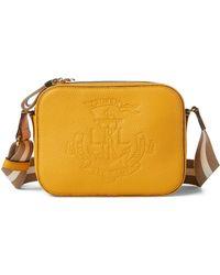 6cc5ddee89ab Ralph Lauren - Anchor Leather Camera Bag - Lyst