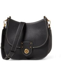 Ralph Lauren - Leather Convertible Bag - Lyst