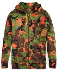 Pink Pony - Camo Double-knit Hoodie - Lyst