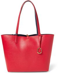 Ralph Lauren - Reversible Faux-leather Tote - Lyst