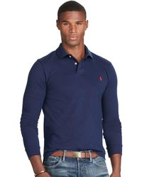 Polo Ralph Lauren | Slim-fit Long-sleeved Polo | Lyst