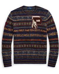 Polo Ralph Lauren - Fair Isle Wool-blend Jumper - Lyst