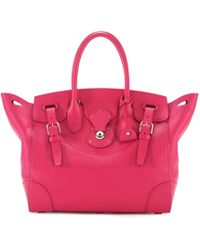 Pink Pony Small Suede Soft Ricky Bag in Pink - Lyst 3d5823c26ec4c