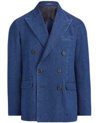 Polo Ralph Lauren - Morgan Denim Sport Coat - Lyst