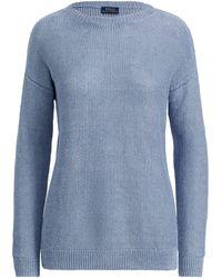Polo Ralph Lauren - Linen Crewneck Sweater - Lyst