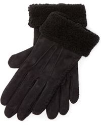 Pink Pony - Shearling Gloves - Lyst