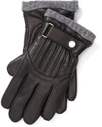 Polo Ralph Lauren - Quilted Nappa Leather Gloves - Lyst