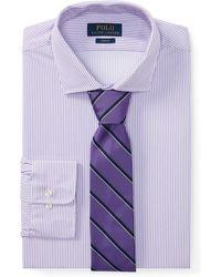 Polo Ralph Lauren - Slim Fit Striped Dobby Shirt - Lyst