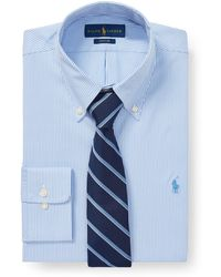 Polo Ralph Lauren - Slim Fit Striped Oxford Shirt - Lyst