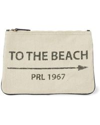 Polo Ralph Lauren - To-the-beach Canvas Pouch - Lyst