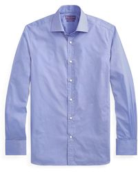Ralph Lauren Purple Label - End-on-end Shirt - Lyst
