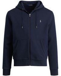 Polo Ralph Lauren | Double-knit Full-zip Hoodie | Lyst