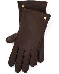 Ralph Lauren - Sheepskin Tech Gloves - Lyst