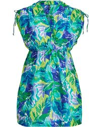 Ralph Lauren - Tropical-print Cover-up - Lyst