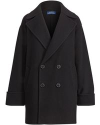 Polo Ralph Lauren - Wool Double-breasted Coat - Lyst