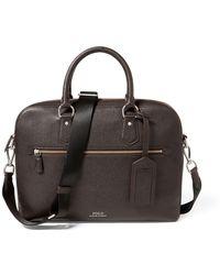 Polo Ralph Lauren - Pebbled Jacquard Briefcase - Lyst