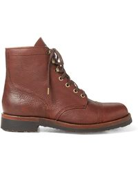 Polo Ralph Lauren - Enville Leather Boot - Lyst