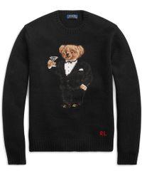 Polo Ralph Lauren - Martini Bear Wool Jumper - Lyst