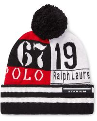 ca877eec255 Lyst - Polo Ralph Lauren Rib-knit Cashmere Hat in Gray for Men