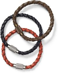 Polo Ralph Lauren - Leather Wrist Strap Set - Lyst