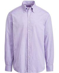 Ralph Lauren Purple Label - Oxford Shirt - Lyst