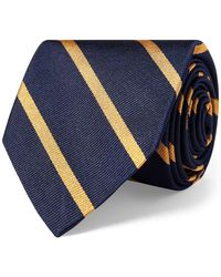 Polo Ralph Lauren - Striped Silk Repp Narrow Tie - Lyst