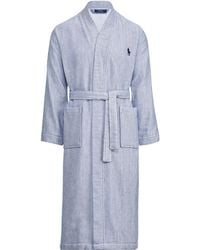 Polo Ralph Lauren - Terry-lined Shawl-collar Robe - Lyst