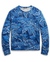 Polo Ralph Lauren - Cotton Spa Terry Sweatshirt - Lyst