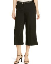 Pink Pony - Sueded Crepe Culotte - Lyst