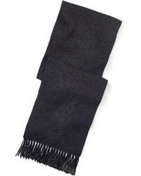 Polo Ralph Lauren   Reversible Wool-blend Scarf   Lyst
