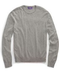 Ralph Lauren Purple Label - Cashmere Crewneck Sweater - Lyst