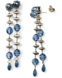 Ralph Lauren - Crystal Chandelier Earrings - Lyst