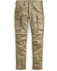 RRL - Skinny Cotton Cargo Pant - Lyst