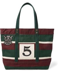 Polo Ralph Lauren - Rowing Canvas Tote - Lyst