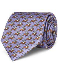 Polo Ralph Lauren - Polo Player Silk Narrow Tie - Lyst