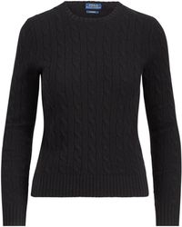 Polo Ralph Lauren - Cable Knit Crewneck Sweater - Lyst
