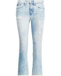 Polo Ralph Lauren - Chrystie Kick-flare Crop Jean - Lyst