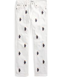 Polo Ralph Lauren - Waverly Straight Crop Jean - Lyst