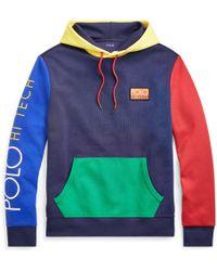 Polo Ralph Lauren - Hi Tech Color-blocked Hoodie - Lyst