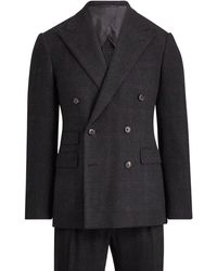 Ralph Lauren Purple Label - Handmade Glen Plaid Suit - Lyst