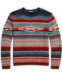 Polo Ralph Lauren - Serape Crewneck Sweater - Lyst