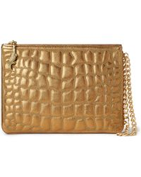 Ralph Lauren - Quilted Nappa Leather Pouch - Lyst